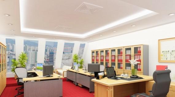 Tổng hợp thảm trải sàn văn phòng 1 màu đẹp hiện nay