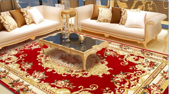 Thảm lót sàn phòng khách cho nhà cấp 4, biệt thự và chung cư