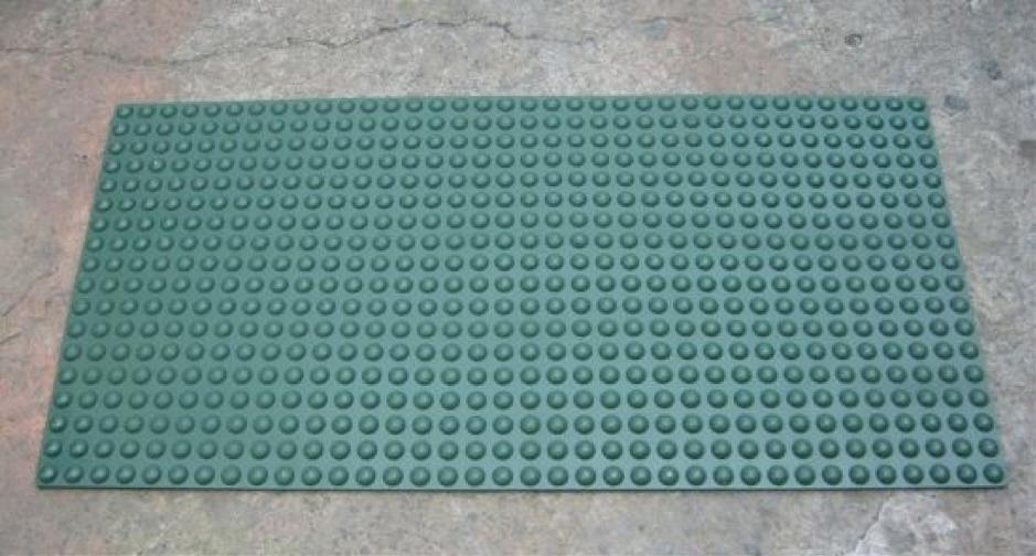 Thảm trải sàn cao su 1 màu đơn giản
