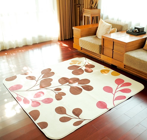 Thảm trải sàn phòng khách giá rẻ sợi nỉ