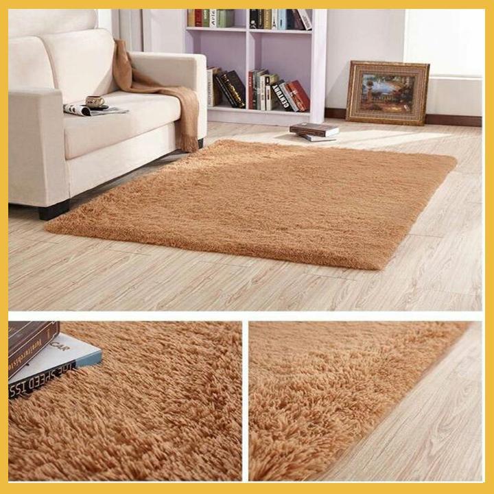 Thảm trải sàn phòng khách giá rẻ lông xù